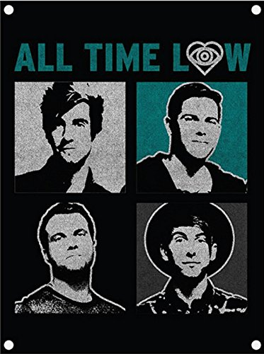 All Time Low ポスター Runaways band logo 公式 Textile Flag 98cm x 74cm All Time Low