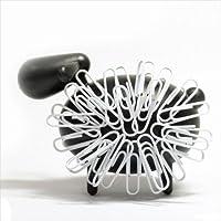 マグネットでクリップを付けてモコモコな動物に♪ Animal Clip Holder(アニマル クリップ ホルダー) sheep ブラック