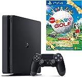 PlayStation 4 ジェット・ブラック 1TB (CUH-2100BB01) 【数量限定特典 New みんなのGOLF ダウンロード版付】
