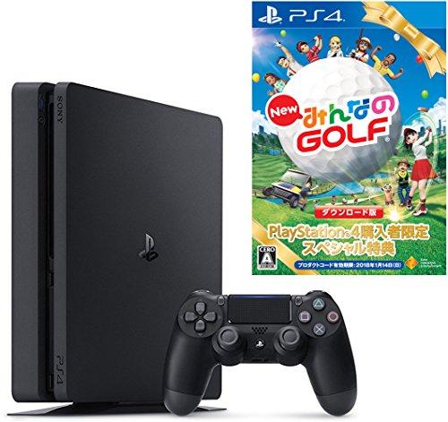 PlayStation 4 ジェット・ブラック 500GB ...