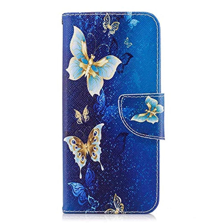 OMATENTI Galaxy S9 ケース, ファッション人気 PUレザー 手帳 軽量 電話ケース 耐衝撃性 落下防止 薄型 スマホケースザー 付きスタンド機能, マグネット開閉式 そしてカード収納 Galaxy S9...