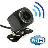 Wi-Fi内蔵ワイヤレスバックカメラ iOS/Android対応 アプリで映像確認 高画質CMOS 映像配線不要 防水等級IP66 12V車専用 FMTY10NEW