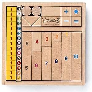 アンパンマン 数字の積み木