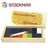 Stockmar(シュトックマー社) 蜜ろうクレヨン ブロッククレヨン 16色 木箱【ST35502】