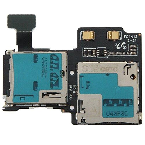 プロのオリジナル電話スペアパーツ SamsungギャラクシーS4 / I545と互換性があるSIMカードスロットフレックスケーブル プロのオリジナル電話スペアパーツ