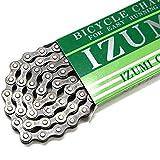 イズミ IZUMI 1/2X1/8 106L 410 ブラック 自転車 チェーン