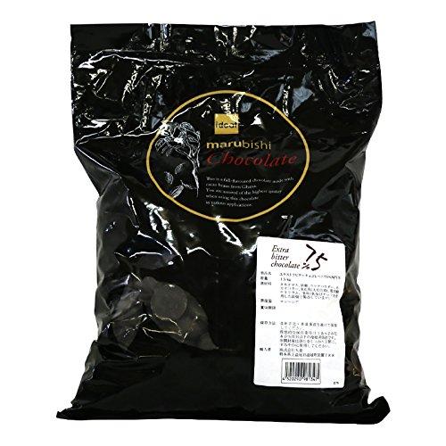 業務用 製菓用チョコレート Beryl's (ベリーズ) クーベルチュール ビターチョコレート カカオ75% 1.5kg