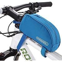 自転車チューブフレーム自転車パニエ防水自転車バッグフロント自転車ハンドルバッグ-A4
