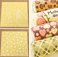 絵画スイスケーキロールシリコーンパッド、食品グレード和風diyシリコーンゴム絵画シリコンロールケーキメーカーパッド-薄黄色