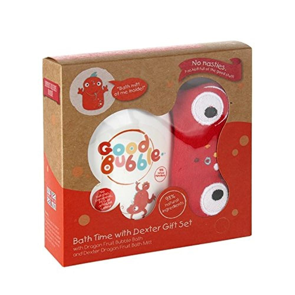 クリケットバスルームパスタGood Bubble Dexter Dragonfruit Gift Set 550g (Pack of 6) - 良いバブルデクスターDragonfruitギフトセット550グラム (x6) [並行輸入品]