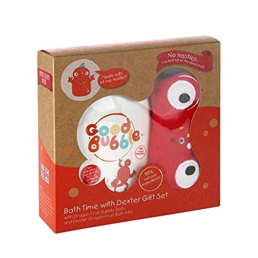 メッセージフォーク好意良いバブルデクスターDragonfruitギフトセット550グラム - Good Bubble Dexter Dragonfruit Gift Set 550g (Good Bubble) [並行輸入品]