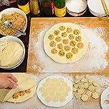 新しい団子金型メーカー キッチン パン生地プレス ラビオリ diy 19穴餃子メーカー金型