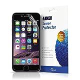 Anker 【3枚入り】 iPhone 6 4.7インチモデル用 液晶保護フィルム 光沢仕上げ 高透明度 高感度 【18ヶ月保証】