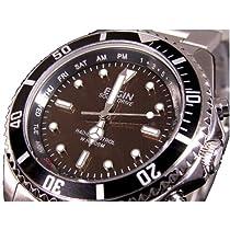 【ELGIN エルジン】時刻合せと電池交換不要! 両極対応電波ソーラー腕時計 FK1253S-AP