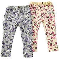 dolcina (ドルチーナ) 花柄レギンスパンツ (80~140cm) キムラタンの子供服 (33366-184) ピンク 90