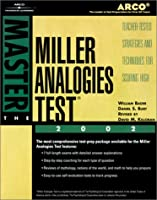 Master the Miller Analogies Test 2002