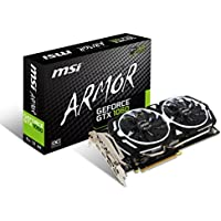 MSI ARMOR 2X デュアルファン搭載 GeForce GTX 1060 グラフィックスカード 6GB版 GeForce GTX 1060 ARMOR 6G OCV1