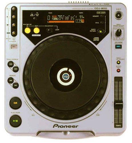 Pioneer デジタルターンテーブルCDプレーヤー シルバー CDJ-800