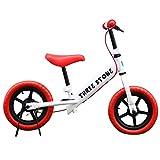 子供用自転車 バランスバイク (AJ-88) ペダルなし自転車 ランニングバイク トレーニングバイク キッズバイク おもちゃ 乗用玩具 子供 幼児 子供自転車 プレゼントに最適 (レッド)