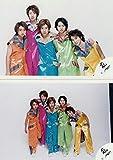 嵐 ARASHI 公式写真 2000年 【集合】 2枚 D -