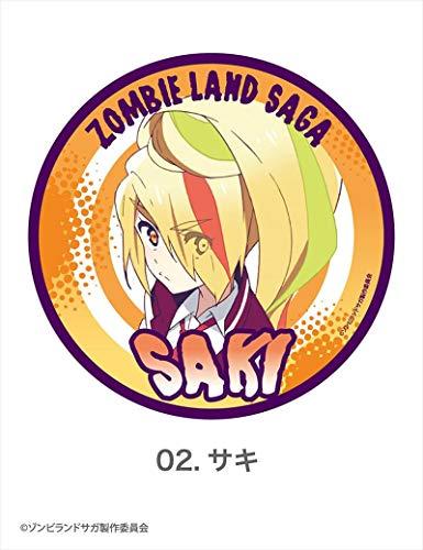 ゾンビランドサガ サキ ダイカットマグネット 02