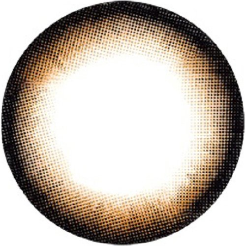 度なし フラワーアイズ マンスリー アネモネブラウン 2枚 レンズ直径14.5mm