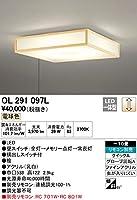 ODELIC(オーデリック) LED和風シーリングライト 【適用畳数:~10畳】 調光タイプ 電球色:OL291097L