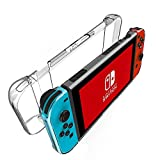 Nintendo Switchケース カバー ニンテンドースイッチ 任天堂 ハードケース Kungber クリアケース 本体ケース+Joy-Conケース 2in1 クリアPC質 高透明 キズ防止 使い
