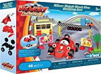 K'NEX Roary Silver Hatch Start Line Building Set [並行輸入品]