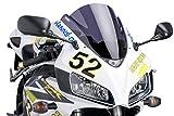 Puig 1665F RACING-SCREEN 【DARK SMOKE】 HONDA CBR1000RR(04-07/BC-SC57専用) プーチ スクリーン カウル オートバイ バイク パーツ