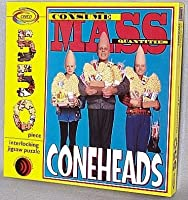 """ヴィンテージSNL Coneheads」消費マス数量"""" 550ピースジグソーパズル"""