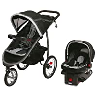 Graco FastAction Fold Jogger Click Connect Travel System, Gotham (Discontinued by Manufacturer) by Graco [並行輸入品]