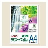 シモジマ:HEIKO ラミネートフィルム 216×303mm A4 100枚 007320014