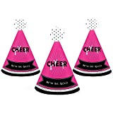 すでに持っSpirit – チアリーディング – Mini円錐誕生日パーティーまたはチアリーダーParty Hats – Small Little Party Hats – 10のセット