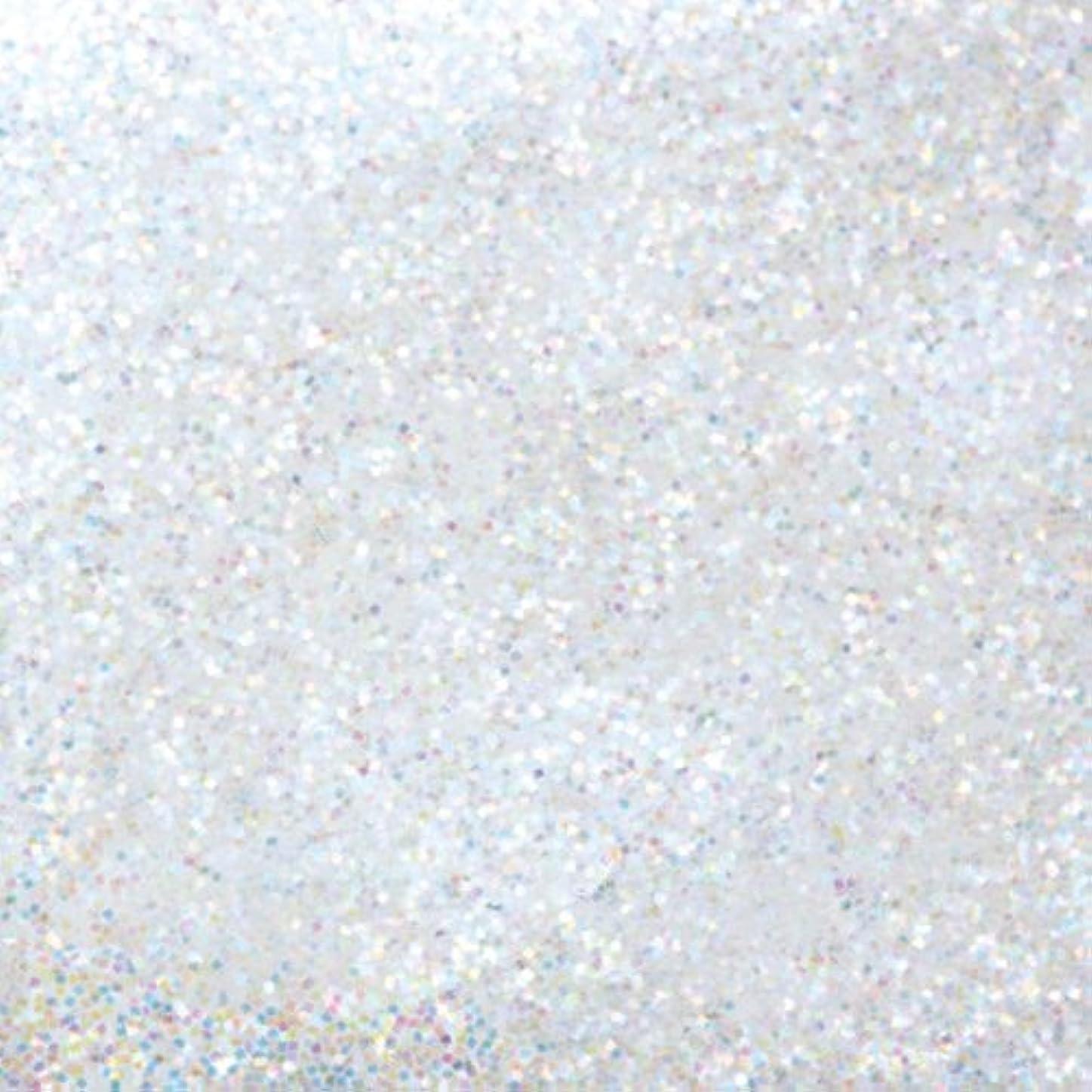 キャプション王室メーターピカエース ネイル用パウダー ピカエース ラメカラーレインボー S #400 ホワイト 0.7g アート材