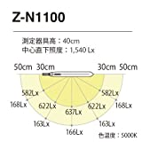Z-LIGHT LEDデスクライト ブラック 調光調色モデル Z-N1100B