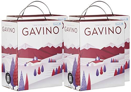ガヴィーノ チリ産カベルネソーヴィニヨン 箱入りワイン(バッグインボックス)3000ml×4個 ケース販売