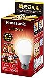 パナソニック LED電球 口金直径26mm 電球60形相当 電球色相当(7.3W) 一般電球 広配光タイプ 調光器対応 密閉器具対応 LDA7LGDSK6
