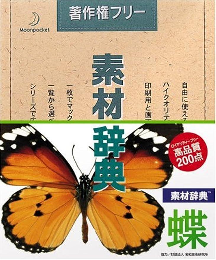 シンプルさ落とし穴日没素材辞典 Vol.12 蝶編
