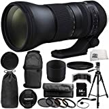 Tamron SP 150–600mm F / 5–6.3Di VC USD g2for Nikon F 14pc Accessory Bundle–Includes 4pc Warmingフィルタキット+変数ニュートラル密度フィルター( nd2-nd400) +バックパック+ More