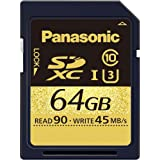Panasonic 64GB SDXCメモリーカード RP-SDUC64GJK