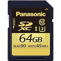 パナソニック 64GB SDXCメモリーカード RP-SDUC64GJK