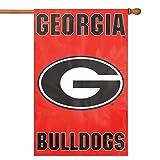 Georgia Bulldogs Banner Flag ジョージアブルドッグバナーフラッグ♪ハロウィン♪サイズ: