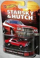 Hot Wheels Retro 刑事スタスキー&ハッチ 1/64 1976 フォード グラントリノ Starsky & Hutch Ford Gran Torino 赤い稲妻