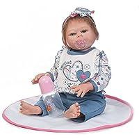 NPK collection Rebornベビー人形リアルな赤ちゃん人形ビニールシリコン赤ちゃん21インチ52 cm人形新生児ベビーブルースーツ