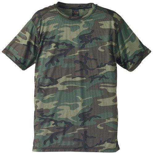 J.G.S.D.Fキャブクロージング ドライクールカモフラージュTシャツ