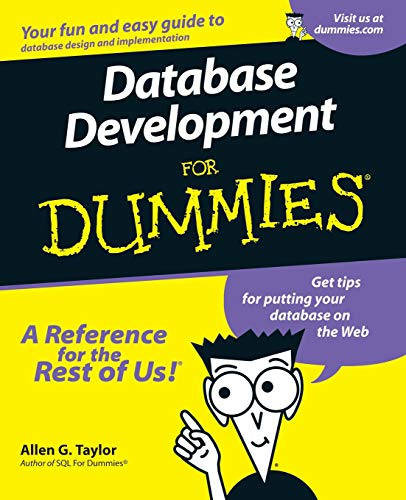Download Database Development for Dummies 0764507524