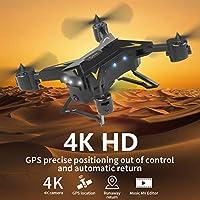 KY601G WiFi RC KローK 4K HDカメラ、折りワタドコプタ、、LEDライト、6軸ジャイ、GPSポ、ショョョョョョ