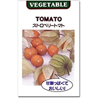 [タネ][野菜タネ]ストロベリートマト(食用ほおずき)の種 5袋セット ノーブランド品