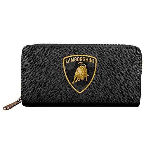 Kamifa カミファ ランボルギーニ スーパーカー アイコン 長財布 ウォレット 出先 実用的 Black